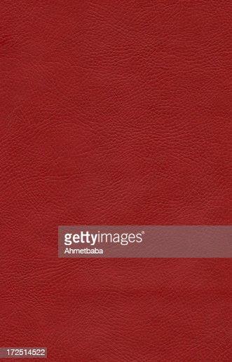 Sfondo in pelle rossa