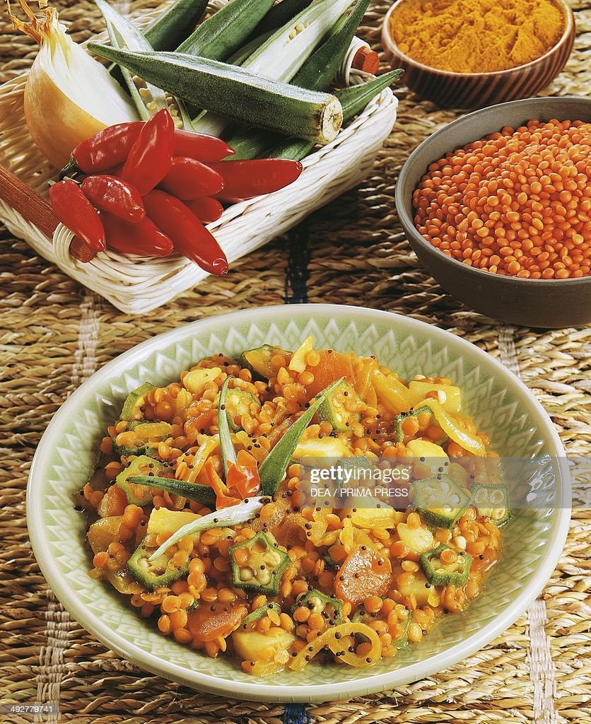 Red lentil curry Malaysia