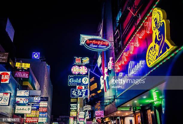 Red light district Patpong Bangkok Thailand