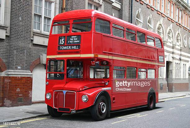 Red London Double Decker Bus