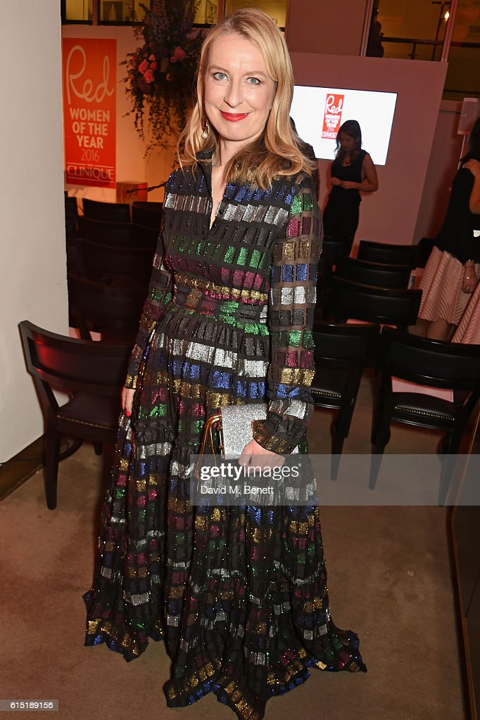Red Magazine editor Sarah Bailey attends the Red Women Of The Year Awards in association with Clinique at The Skylon on October 17, 2016 in London, England.