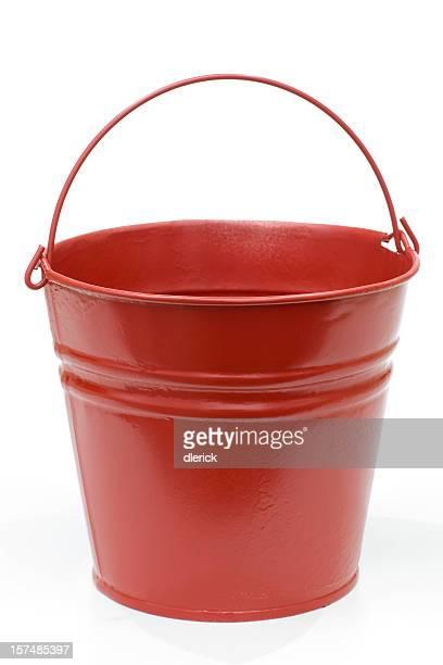 metal cubo rojo