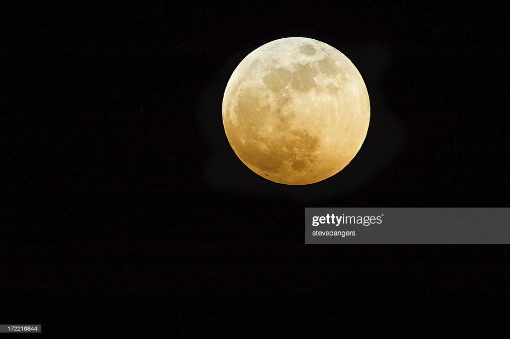 Rosso luna : Foto stock