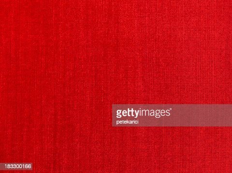 Red Natural Linen