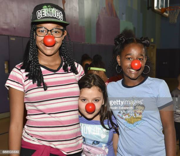Red Nose Day at Union Rescue Mission on May 25 2017 in Los Angeles California
