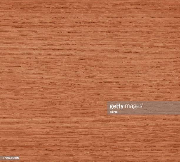 texture en bois de chêne rouge