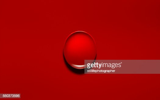 Red object on red