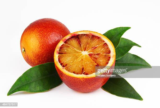 Red orange or blood orange
