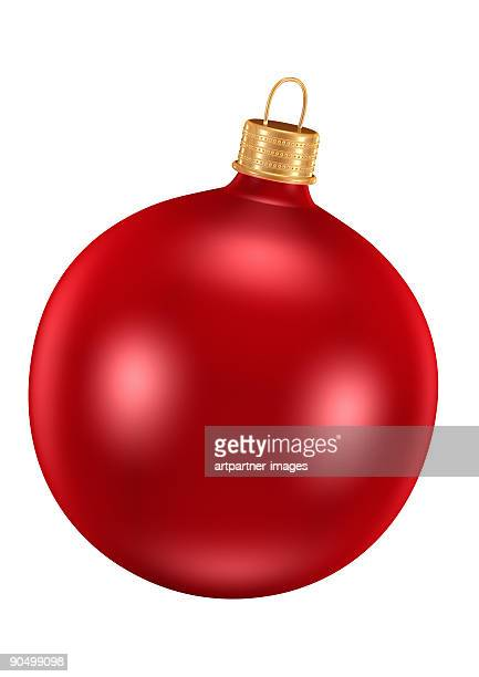 Red Ornament for Christmas Tree