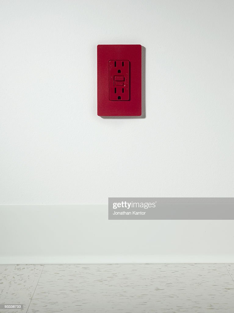 Red Outlet : Stock Photo