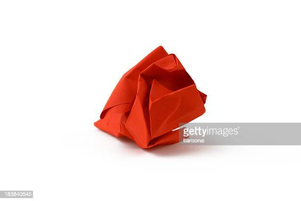 Red paper ball