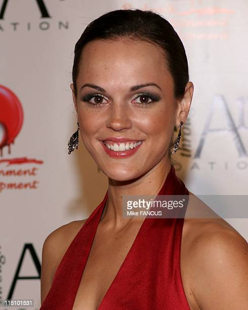 Red Party 2004 Annual Benefit for the Life Through Art Foundation in Los Angeles United States on December 04 2004 Erin Cahill at the Shrine...