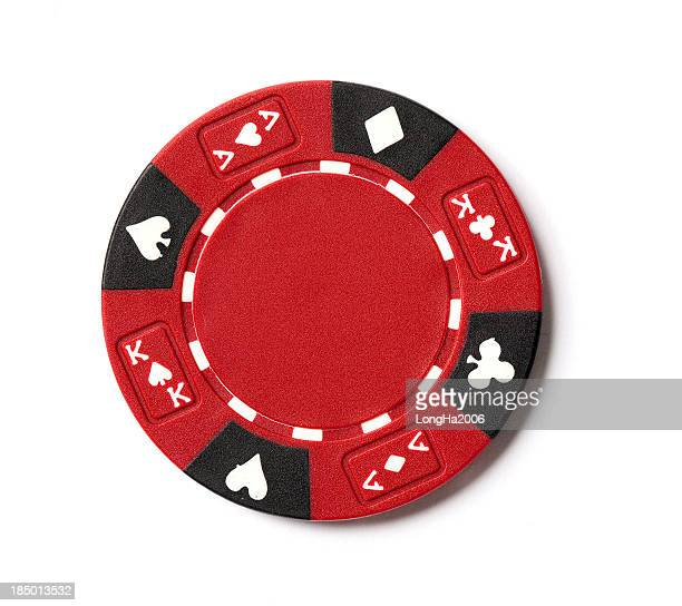 Jeton de Poker rouge
