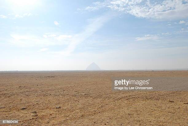 Red pyramid at Dashur, Egypt