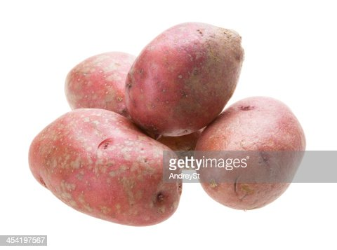 Red Batata Crua : Foto de stock