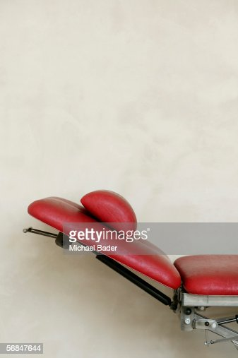 reclining chair side view stock photo getty images