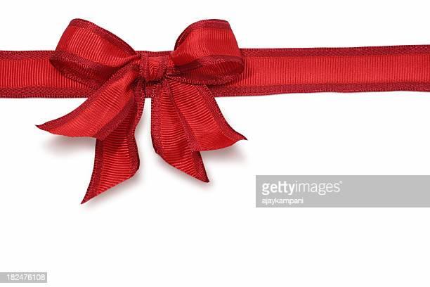 Red Ribbon & Bow