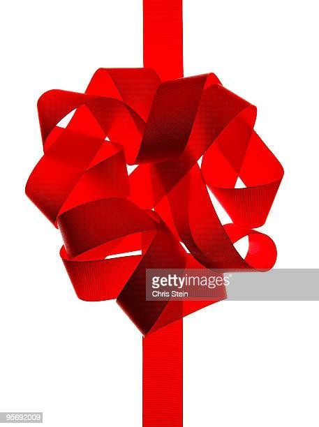 Red Ribbon Bow