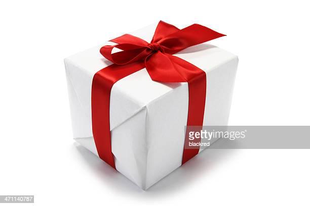 Rote Schleife Geschenk