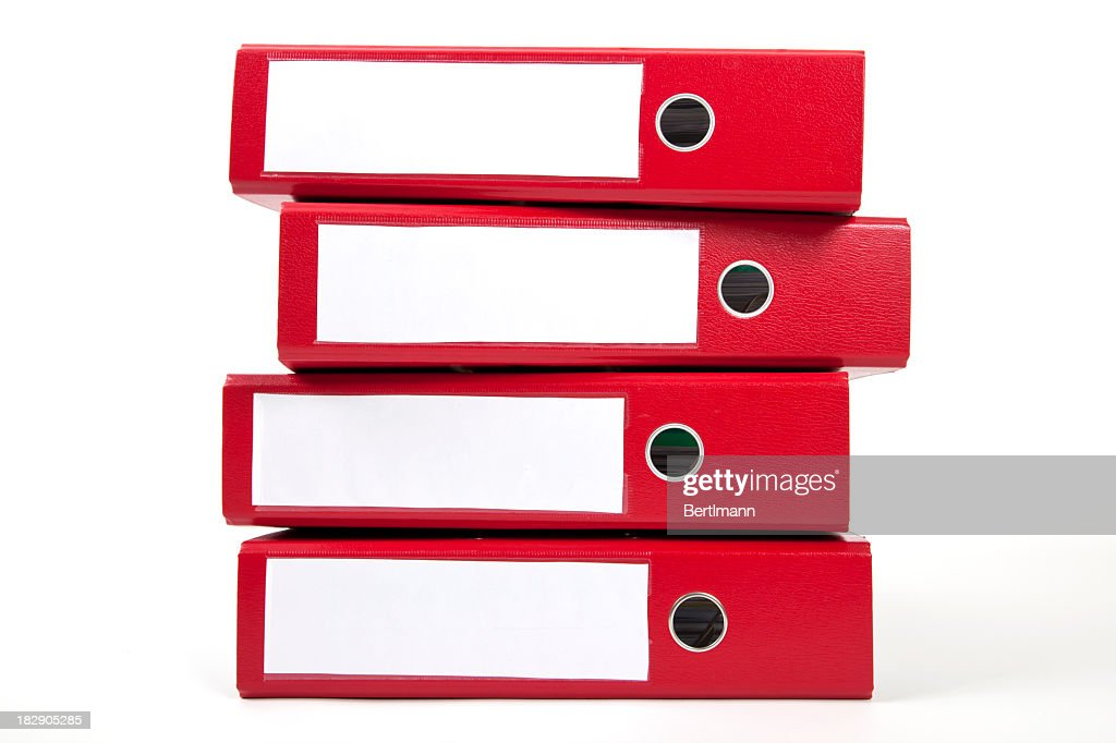 red ring binders
