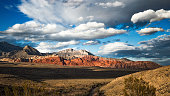 View of Red Rock Canyon, Las Vegas, Nevada