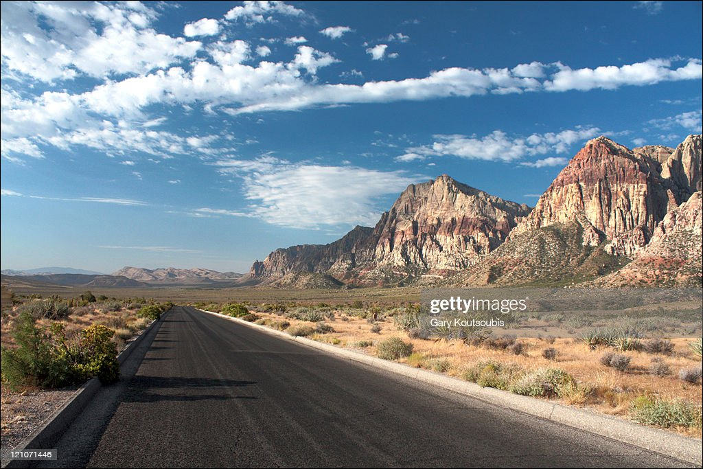 Red Rock Canyon Scenic Road, Las Vegas, Nevada