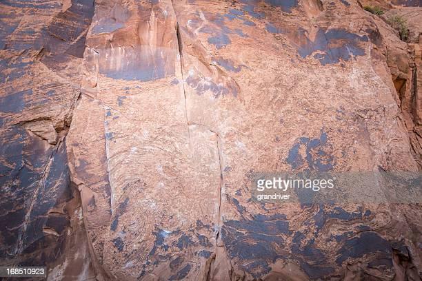 Red Rock Wall Hintergrund