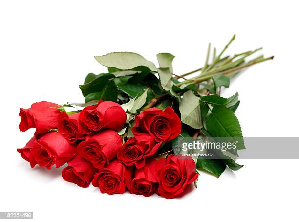 Rote rose bouquet