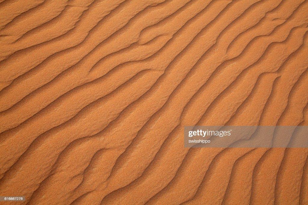 Red sand desert : Stock Photo