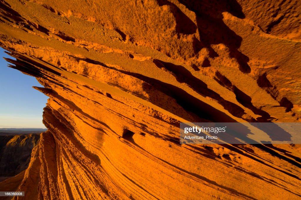 Red Sandstone Fins Landscape