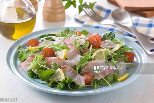 Red Sea Bream Carpaccio Salad