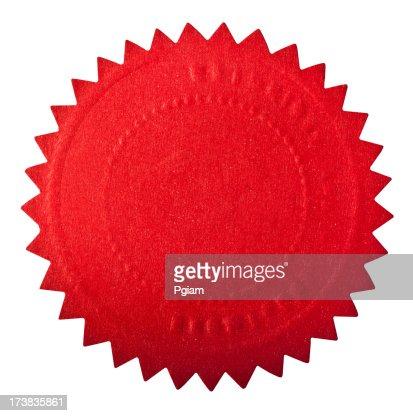 Red seal award