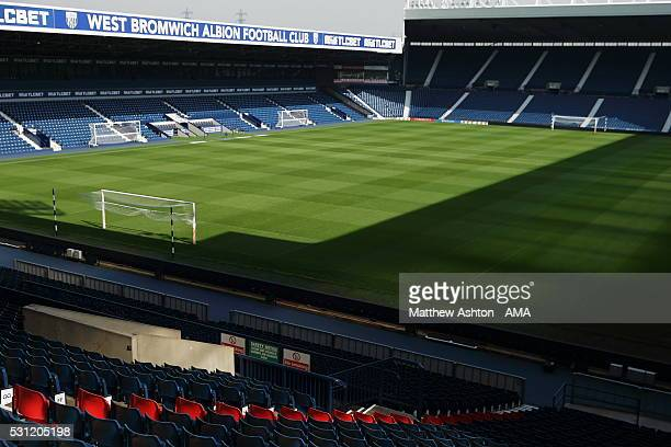 Red seats installed in the Smethwick End of The Hawthorns Stadium home of West Bromwich Albion Each of the 96 seats has a name of the 96 Liverpool...
