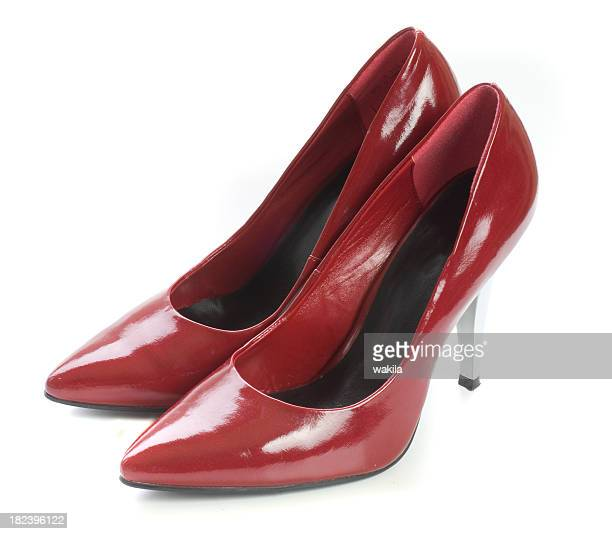 red shoes - high heels