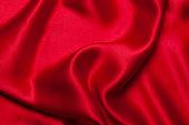 Red silk background
