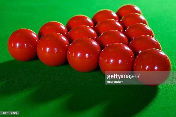 Red Snooker Balls