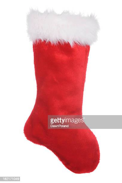 Red sock for Christmas time to put presents into