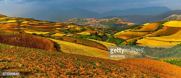Red soil highland in China