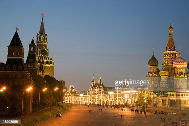 Red Square bei Nacht