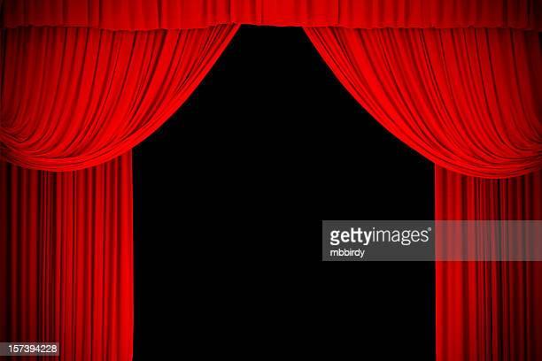 レッドステージカーテン