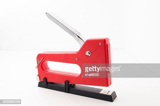 Rouge Agrafeuse Gun : Photo