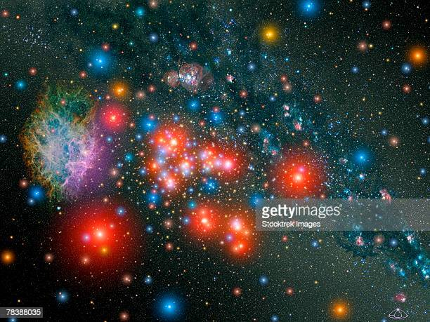 Red super giant cluster.