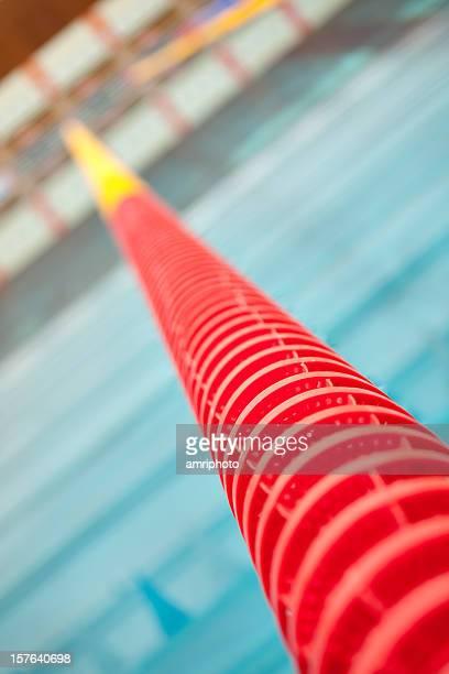 Rouge Couloir de natation