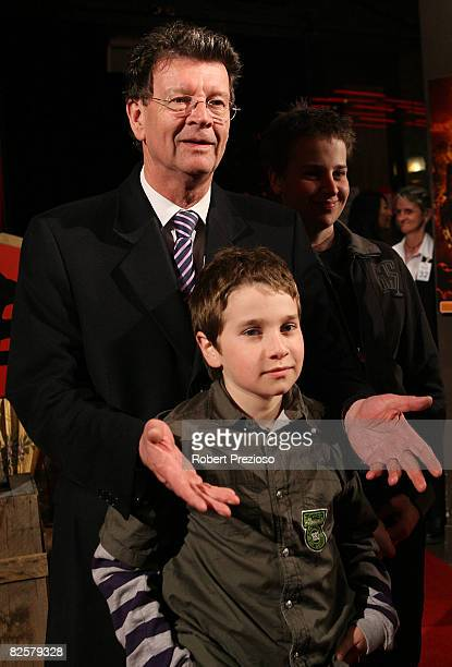 Red Symons arrives for the premiere of 'The Mummy' at the Hoyts Melbourne Central Cinemas on August 28 2008 in Melbourne Australia
