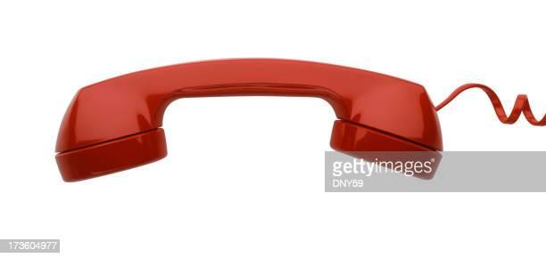 レッド電話レシーバ
