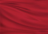 Red textile background, illustration