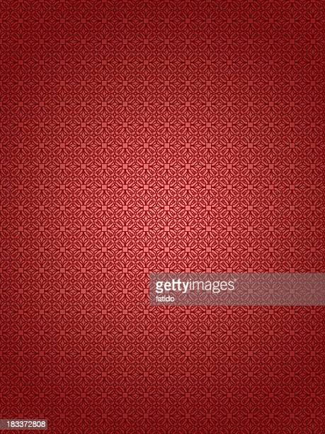 Red textured retro wallpaper background