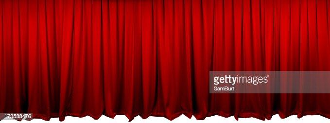 Red Theatre のカーテン(XL