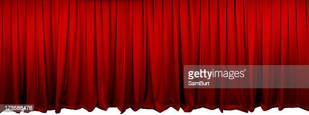 Red Theatre Curtains (XL)