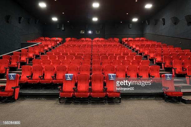 Sedili rosso Teatro